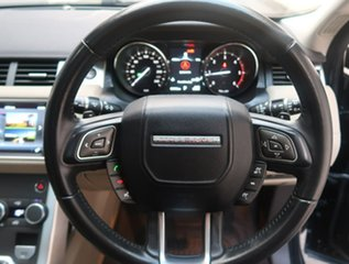 2016 Land Rover Range Rover Evoque L538 MY16.5 Pure Black 9 Speed Sports Automatic Wagon