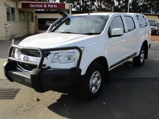 2016 Holden Colorado RG MY16 LS White 6 Speed Automatic Dual Cab.