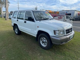 2000 Holden Jackaroo U8 MY00 White 5 Speed Manual Wagon
