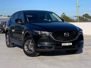 2017 Mazda CX-5 KE1072 Maxx SKYACTIV-Drive FWD Sport Jet Black 6 Speed Sports Automatic Wagon.