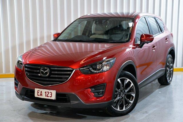 Used Mazda CX-5 KE1032 Akera SKYACTIV-Drive AWD Hendra, 2015 Mazda CX-5 KE1032 Akera SKYACTIV-Drive AWD Red 6 Speed Sports Automatic Wagon