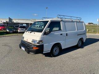 2005 Mitsubishi Express SJ-MY05 SWB White 5 Speed Manual Van.