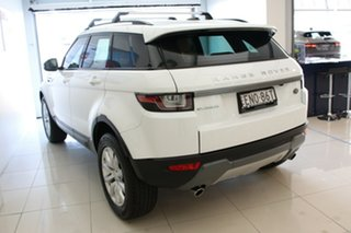 2016 Land Rover Range Rover Evoque L538 MY17 TD4 150 SE White 9 Speed Sports Automatic Wagon.