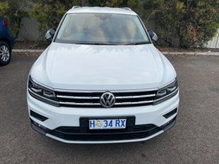 2018 Volkswagen Tiguan 5N MY18 110TSI Comfortline DSG 2WD Allspace White 6 Speed.