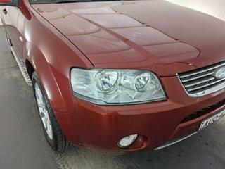 2005 Ford Territory SX Ghia Maroon 4 Speed Sports Automatic Wagon.