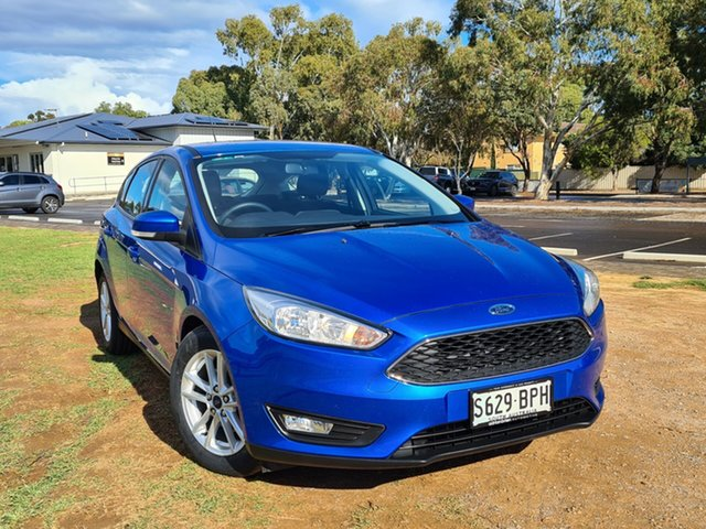 Used Ford Focus LZ Trend St Marys, 2017 Ford Focus LZ Trend Blue 6 Speed Automatic Hatchback