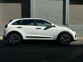 2021 Kia Niro DE 21MY Hybrid DCT 2WD S Clear White 6 Speed Sports Automatic Dual Clutch Wagon Hybrid.