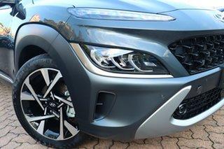 2021 Hyundai Kona Os.v4 MY21 Highlander 2WD Dive in Jeju 8 Speed Constant Variable Wagon.