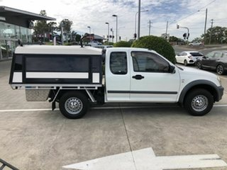 2006 Holden Rodeo RA MY06 LX Space Cab 4x2 White 4 Speed Automatic Utility.