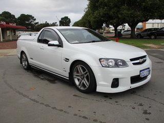 2012 Holden Ute VE II SS White 6 Speed Sports Automatic Utility.