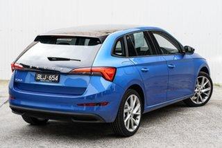 2020 Skoda Scala NW MY21 110TSI DSG Blue 7 Speed Sports Automatic Dual Clutch Hatchback.