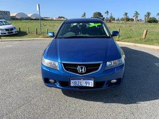 2005 Honda Accord Euro Blue 5 Speed Sequential Auto Sedan.