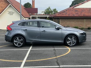 2016 Volvo V40 M Series MY16 D4 Adap Geartronic Luxury Grey 8 Speed Sports Automatic Hatchback.