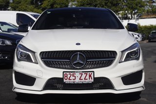 2013 Mercedes-Benz CLA-Class C117 CLA200 DCT White 7 Speed Sports Automatic Dual Clutch Coupe.