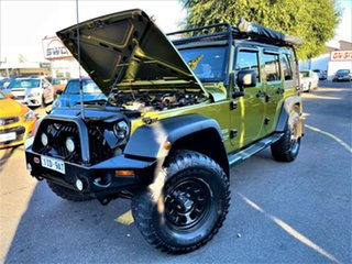 2008 Jeep Wrangler JK MY2008 Unlimited Sport Gold 6 Speed Manual Softtop