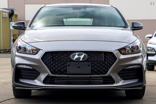 2021 Hyundai i30 PD.V4 MY21 N Line D-CT Premium Silver 7 Speed Sports Automatic Dual Clutch.