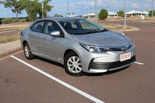 2019 Toyota Corolla ZRE172R Ascent S-CVT Silver Ash 7 Speed Automatic Sedan.