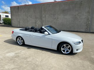 2010 BMW 3 Series E93 MY11 320d Steptronic White 6 Speed Sports Automatic Convertible