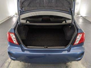 2009 Subaru Impreza G3 MY09 R AWD Blue 4 Speed Sports Automatic Sedan