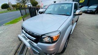 2011 Ford Ranger PK XLT Crew Cab 4x2 Hi-Rider Silver 5 Speed Manual Utility