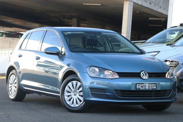 Used Volkswagen Golf VII MY17 92TSI Brookvale, 2017 Volkswagen Golf VII MY17 92TSI Blue 6 Speed Manual Hatchback
