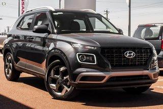 2021 Hyundai Venue QX.V3 MY21 Active Grey 6 Speed Manual Wagon.