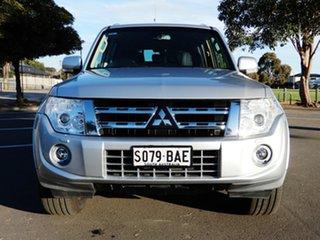 2012 Mitsubishi Pajero NW MY13 VR-X Silver 5 Speed Sports Automatic Wagon.
