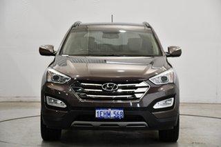 2013 Hyundai Santa Fe DM MY14 Highlander Bronze 6 Speed Sports Automatic Wagon.