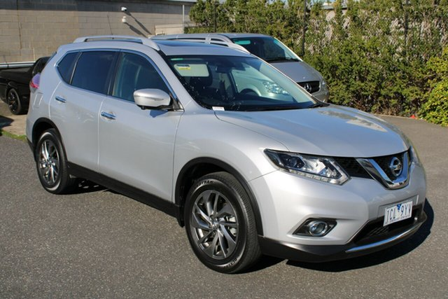 Used Nissan X-Trail T32 Ti X-tronic 4WD Ferntree Gully, 2014 Nissan X-Trail T32 Ti X-tronic 4WD Billet Silver 7 Speed Constant Variable Wagon