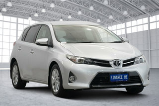 2015 Toyota Corolla ZRE182R Ascent Sport S-CVT Silver 7 Speed Constant Variable Hatchback.