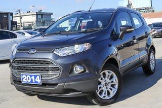 2014 Ford Ecosport BK Titanium Grey 5 Speed Manual Wagon.