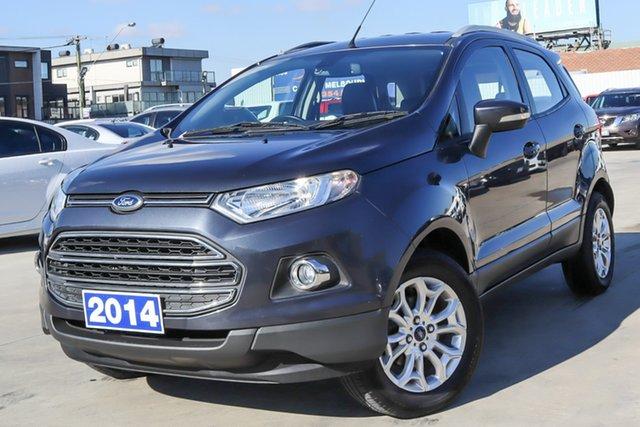 Used Ford Ecosport BK Titanium Coburg North, 2014 Ford Ecosport BK Titanium Grey 5 Speed Manual Wagon