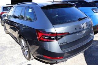 2021 Skoda Superb NP MY21 206TSI DSG SportLine Steel Grey 6 Speed Sports Automatic Dual Clutch Wagon.