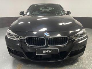 2017 BMW 3 Series F30 LCI 340i M Sport Black Sapphire 8 Speed Sports Automatic Sedan.