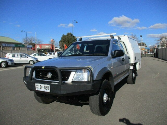Used Holden Rodeo RA MY05.5 LX Crew Cab Murray Bridge, 2005 Holden Rodeo RA MY05.5 LX Crew Cab Silver 4 Speed Automatic Utility