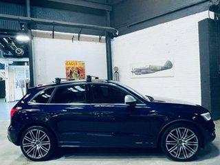 2013 Audi SQ5 8R MY14 TDI Tiptronic Quattro Blue 8 Speed Sports Automatic Wagon.