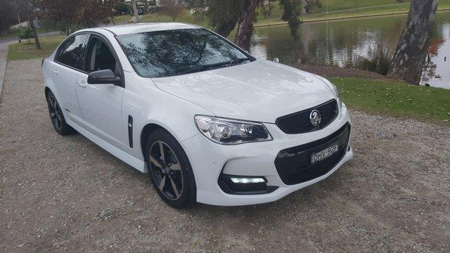 Used Holden Commodore VF II MY16 SV6 Black Wodonga, 2016 Holden Commodore VF II MY16 SV6 Black White 6 Speed Sports Automatic Sedan