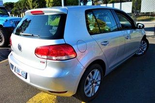 2010 Volkswagen Golf VI MY10 118TSI DSG Comfortline Silver 7 Speed Sports Automatic Dual Clutch.