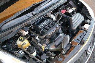 2010 Holden Barina Spark MJ MY11 CD Black 5 Speed Manual Hatchback