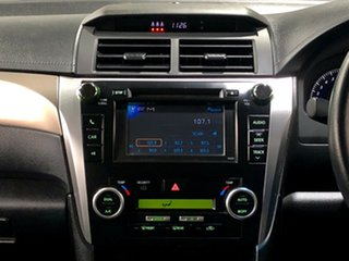 2012 Toyota Aurion GSV50R Touring Black 6 Speed Sports Automatic Sedan