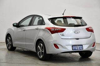 2016 Hyundai i30 GD4 Series II MY17 Active X Platinum Silver Metallic 6 Speed Sports Automatic