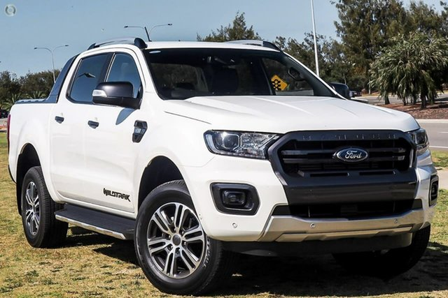 New Ford Ranger PX MkIII 2021.25MY Wildtrak Oakleigh, 2021 Ford Ranger PX MkIII 2021.25MY Wildtrak White 6 Speed Sports Automatic Double Cab Pick Up