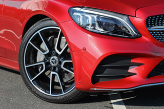 2019 Mercedes-Benz C-Class W205 809MY C300 9G-Tronic Designo Hyacinth Red 9 Speed Sports Automatic
