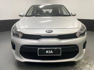 2017 Kia Rio YB MY18 S Silver 4 Speed Sports Automatic Hatchback.