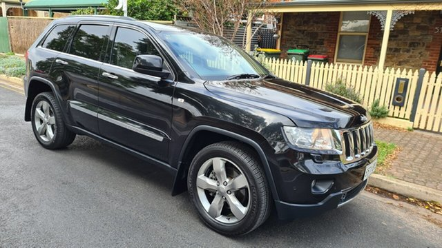 Used Jeep Grand Cherokee WK MY13 Limited (4x4) Prospect, 2012 Jeep Grand Cherokee WK MY13 Limited (4x4) Black & Chrome 5 Speed Automatic Wagon