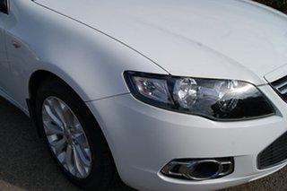 2011 Ford Falcon FG Upgrade G6 White 6 Speed Automatic Sedan.