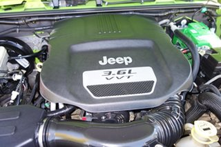 2012 Jeep Wrangler JK MY2013 Unlimited Sport Green 6 Speed Manual Softtop