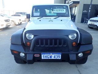 2012 Jeep Wrangler Unlimited JK MY13 Sport (4x4) White 6 Speed Manual Softtop.