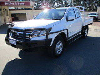 2018 Holden Colorado RG MY18 LS White 6 Speed Automatic Spacecab.