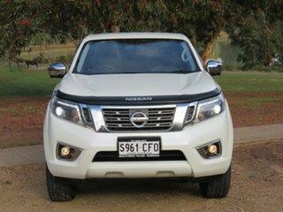 2020 Nissan Navara D23 S4 MY20 ST-X White 7 Speed Sports Automatic Utility.